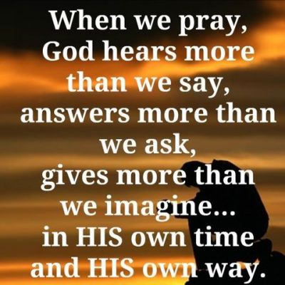 Praying God's prayers - get God's answers